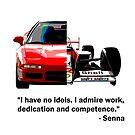 Shift Shirts Senna -  F1 Inspired by ShiftShirts