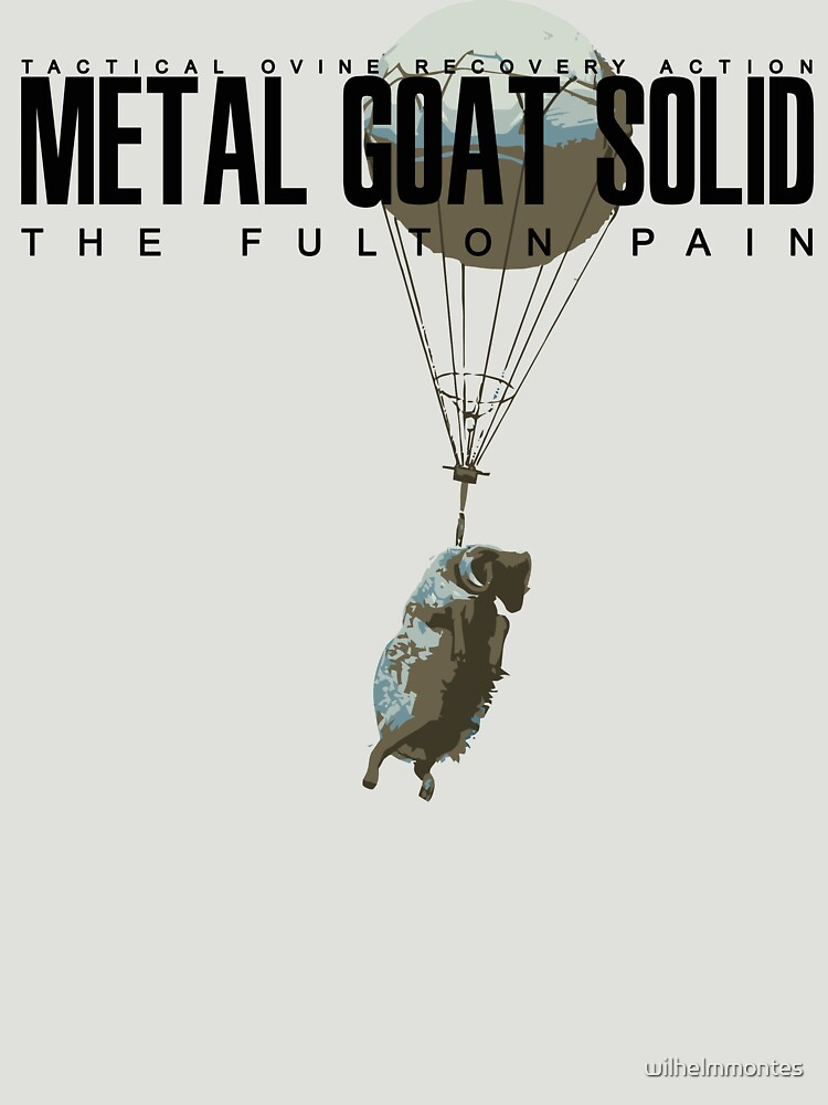METAL GOAT SOLID - THE FULTON PAIN | Unisex T-Shirt