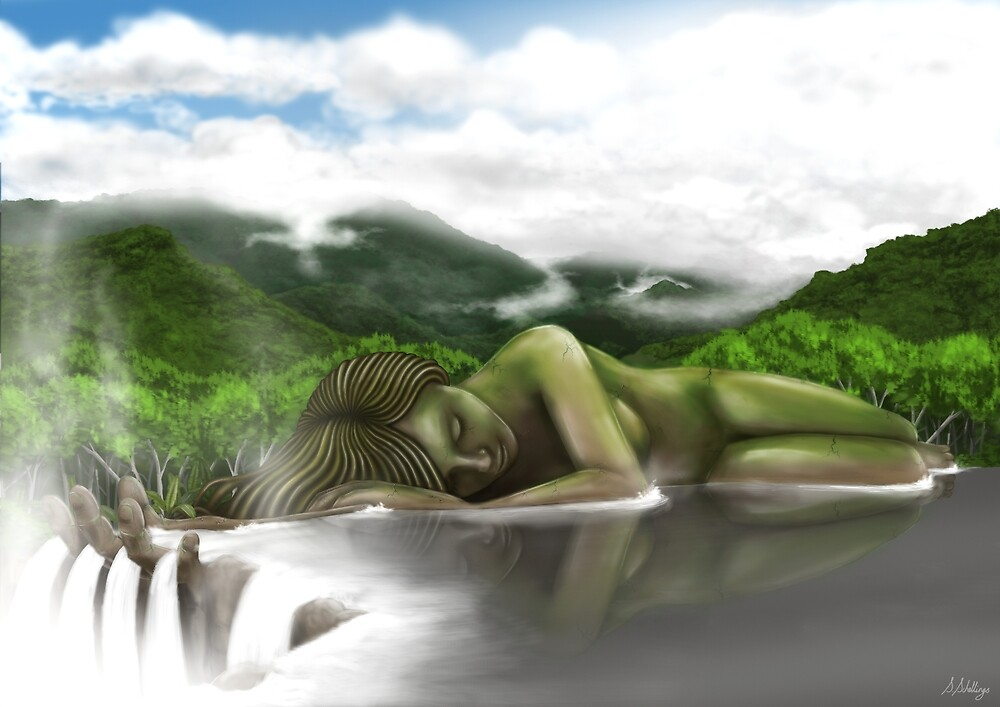 Mother Earth by Shaun Schellings