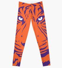 Clemson Tiger Face 2 Leggings