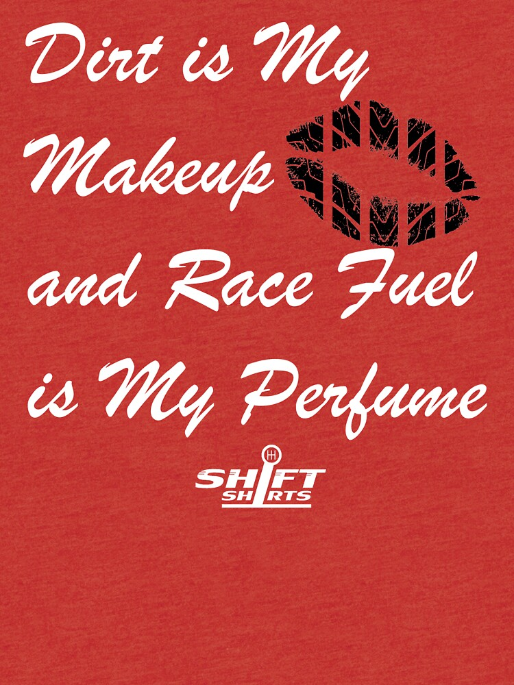 Shift Shirts Race Perfume - Female Racer  by ShiftShirts