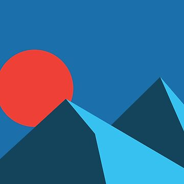 Mountain & Sun by SasquatchBear