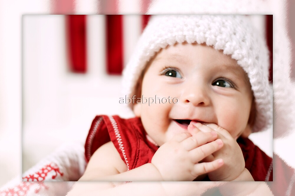 Happy Baby by abfabphoto