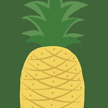 Illustrated Pineapple by Sailboat88