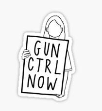 gun ctrl now Sticker