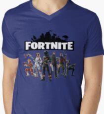 Fortnite Skins Men's V-Neck T-Shirt