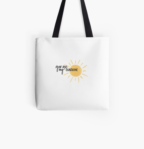 Du bist mein Sonnenschein Allover-Print Tote Bag