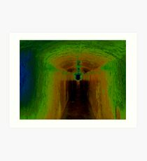 The Tunnel Downward Art Print