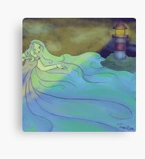 She is the Sea Canvas Print