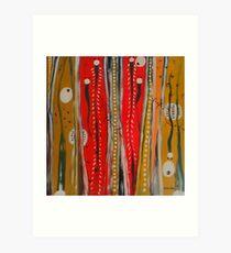 Aborigine Art Print