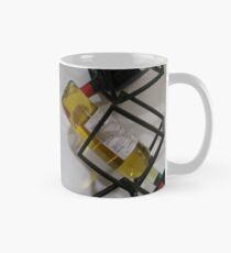 Wine bottles, Shelf, Building, Technopunk, Steampunk, Cyberpunk Mug