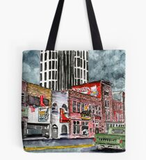 Nashville Tennessee country music art Tote Bag