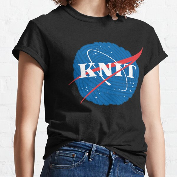 Funny Knitting Shirts And Gifts Classic T-Shirt