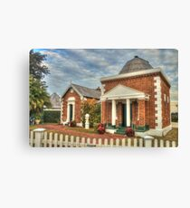 Peninsula House, Tebbutt's Observatory Canvas Print