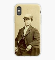 1860s Photograph of a San Francisco Man iPhone Case