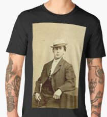 1860s Photograph of a San Francisco Man Men's Premium T-Shirt