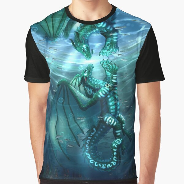 Wings of Fire - Fathom and Turtle Graphic T-Shirt