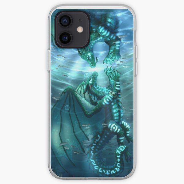 Wings of Fire - Fathom and Turtle iPhone Soft Case