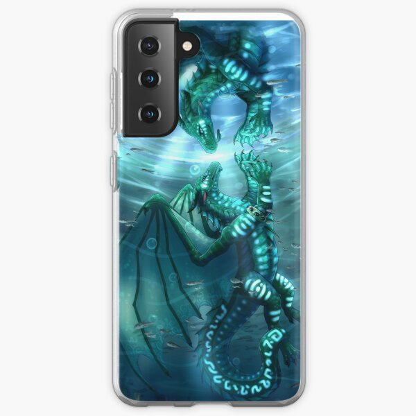 Wings of Fire - Fathom and Turtle Samsung Galaxy Soft Case