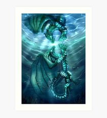 Wings of Fire - Fathom and Turtle Art Print
