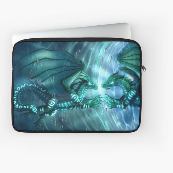 Wings of Fire - Fathom and Turtle Laptop Sleeve