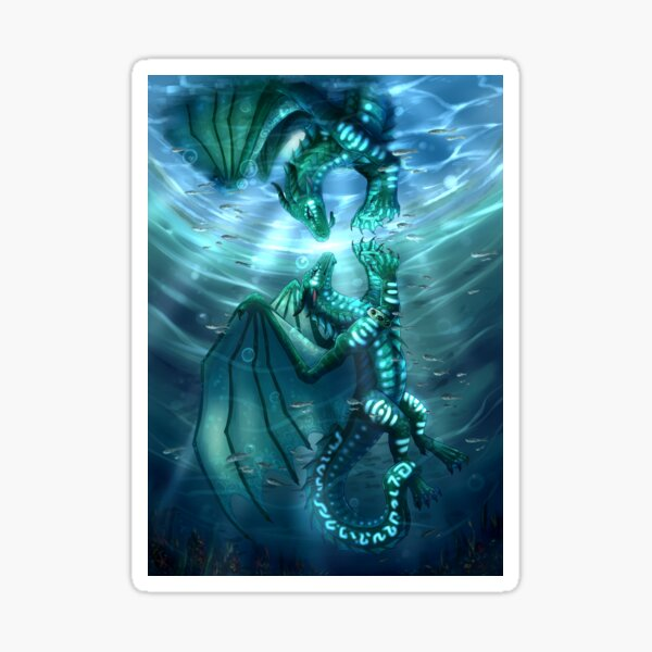Wings of Fire - Fathom and Turtle Sticker