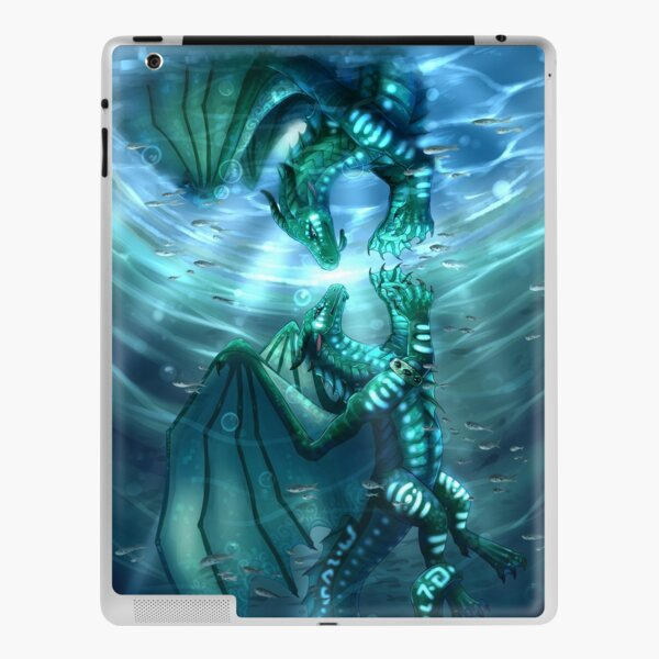 Wings of Fire - Fathom and Turtle iPad Skin