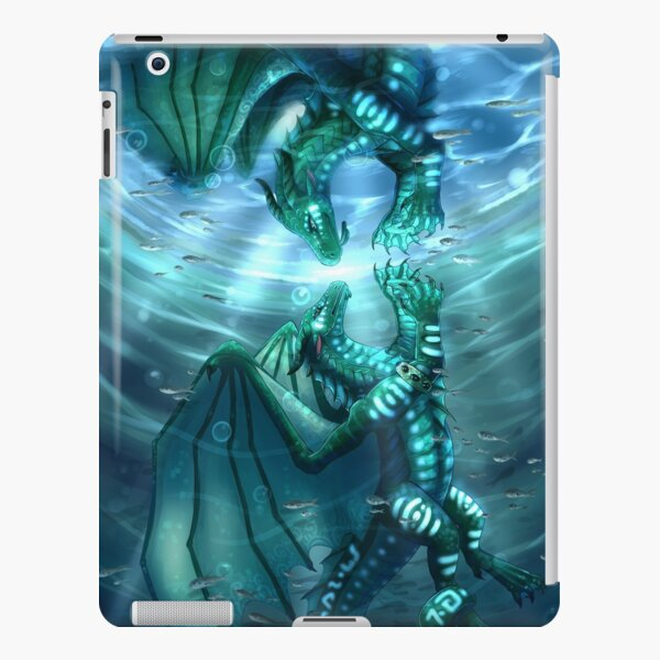 Wings of Fire - Fathom and Turtle iPad Snap Case