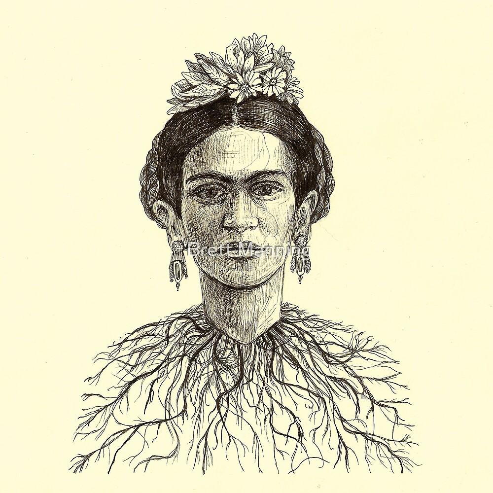 Frida Kahlo by Brett Manning