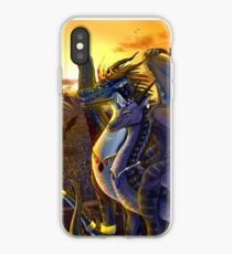 Wings of Fire - Darkstalker and Clearsight AU iPhone Case
