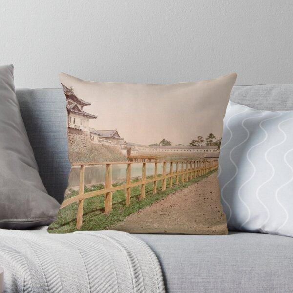 Imperial Palace, Japan Throw Pillow