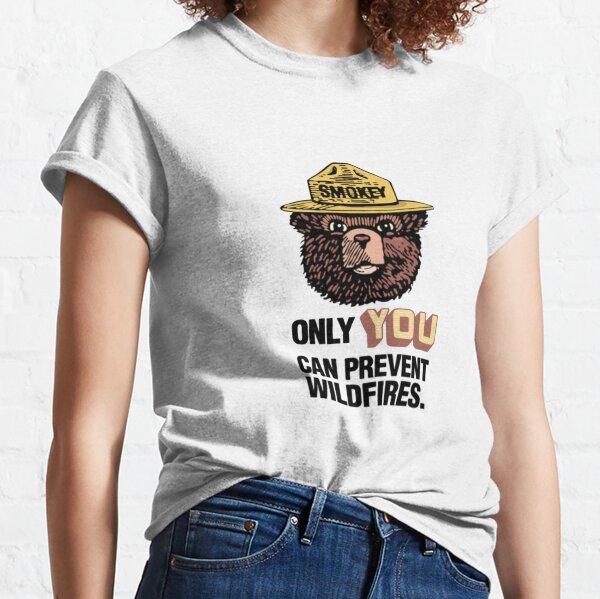 Smokey The Bear Classic T-Shirt