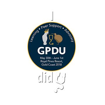 GPDU18 Mugs, notebooks and clothing (for dark background) by flyingdoc