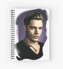Shadowhunters - Jace Herondale - recoloring Spiral Notebook