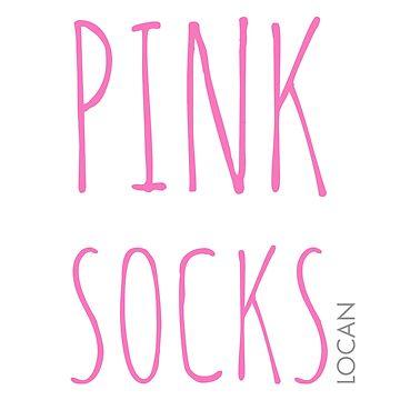 PINK SOCKS by Locan