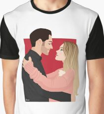 Lucifer and Chloe Graphic T-Shirt