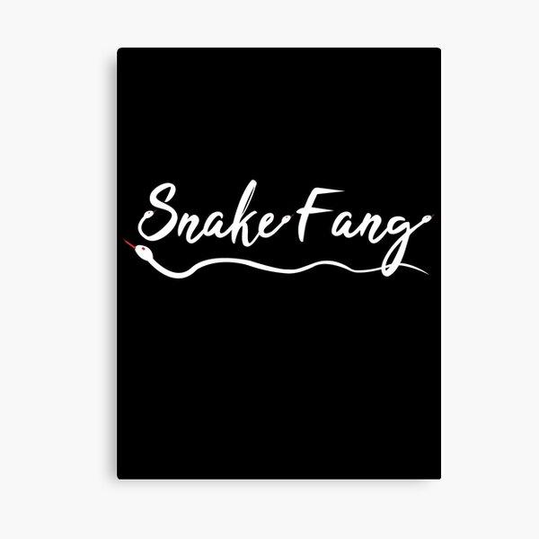 Snake Fang - White Version Canvas Print