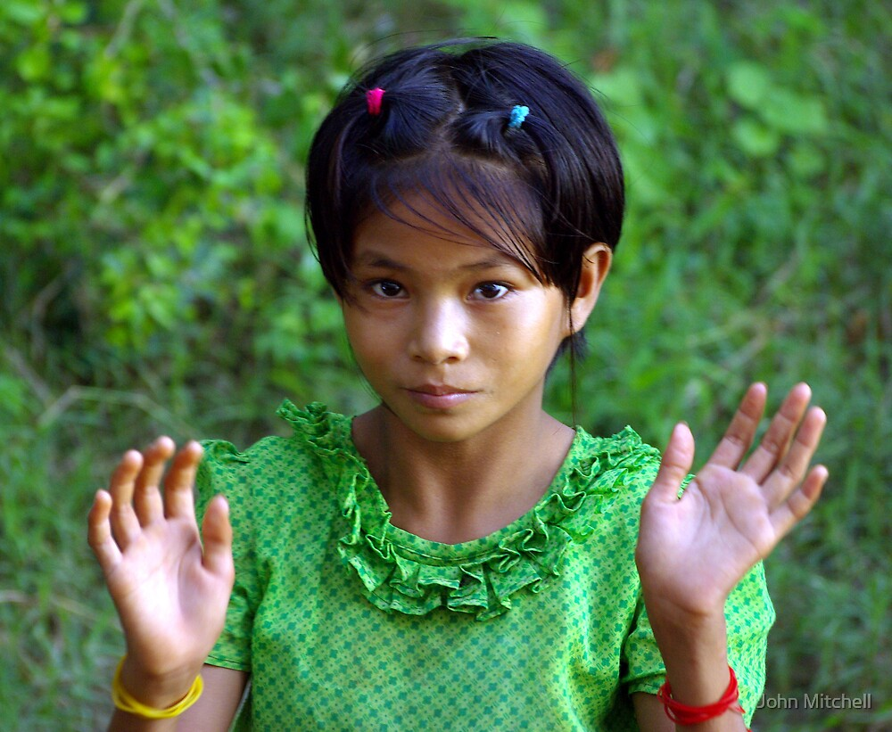 Quot Village Girl Upper Irrawaddy River Burma Quot By John