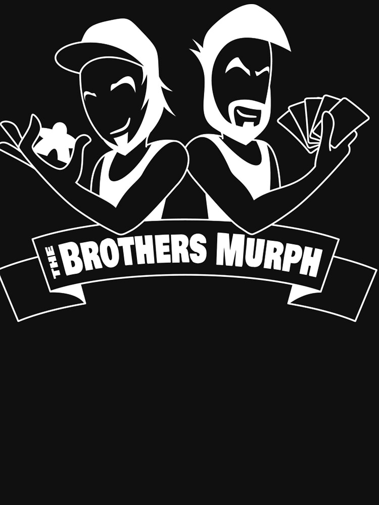 White The Brothers Murph Logo (Old Man Mike) by BrothersMurph
