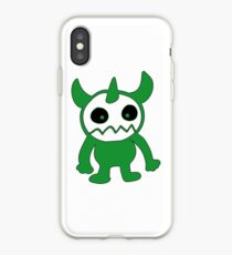 Freehand monster iPhone Case