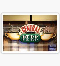 central perk cafe Sticker