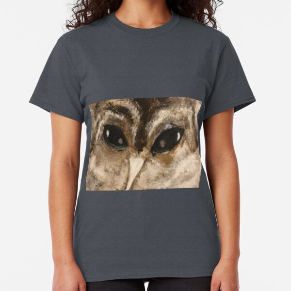 Owl Eyes Are Watching You Classic T-Shirt