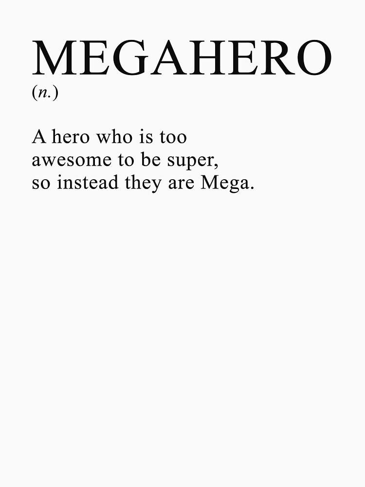 Appendix Man Megahero Definition by crowbarmedia