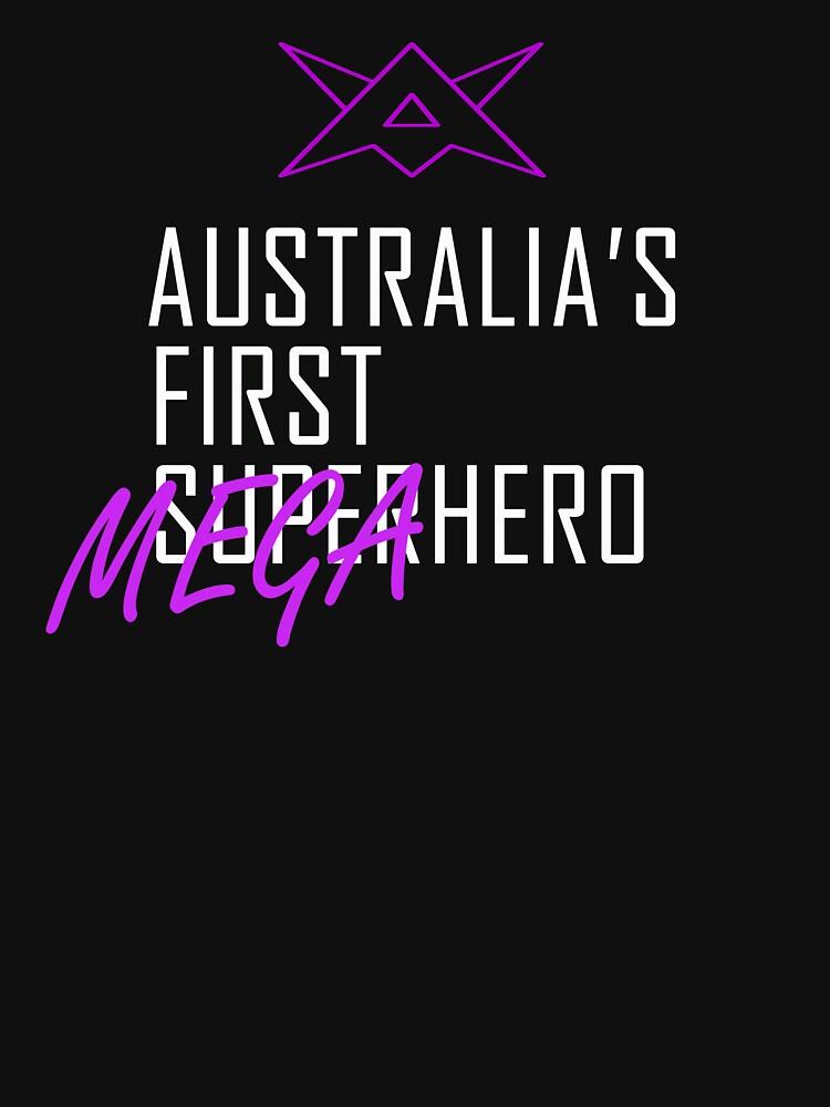 Appendix Man Australia's First Megahero by crowbarmedia