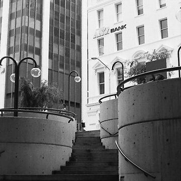 Ascending, Australia Square, Sydney by chrisjoy