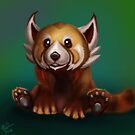 Sunfur Panda by mattfossen