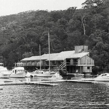 Hawkesbury River Marina, NSW, Australia by chrisjoy