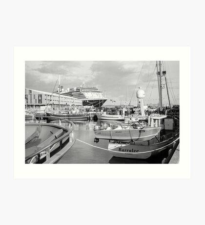 Hobart Port: 2017 Art Print