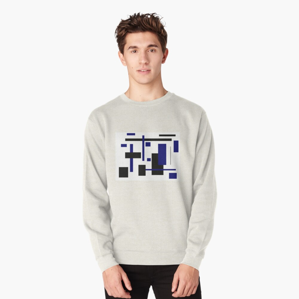 Rectangular Pattern 4  Pullover Sweatshirt