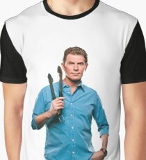 Bobby Flay Celebrity Chef Food Network TV Star Graphic T-Shirt